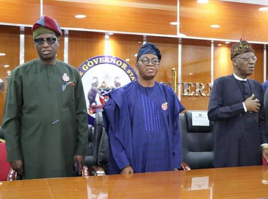 Osun State Governor and the Minister of Information & Culture
