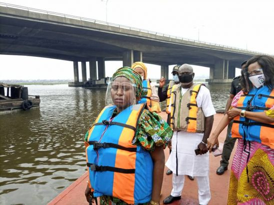 Press Release: Third Mainland Bridge - NIWA Deploy Floating Jetties, Flags New Routes