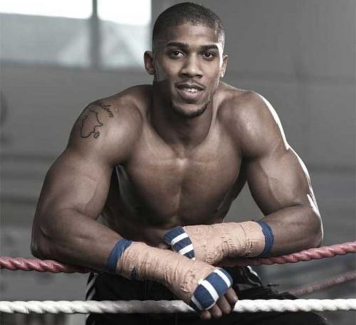 Anthony Joshua's village in Nigeria Celebrates Him